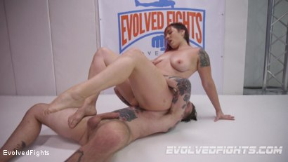 Photo number 7 from Powerful Red Head Wrestler Destroys Male Opponent then Fucks Him shot for Evolved Fights on Kink.com. Featuring Mistress Kara and Will Havoc in hardcore BDSM & Fetish porn.