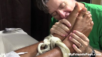 Photo number 13 from Mikey Tied Up & Worshiped shot for My Friends Feet on Kink.com. Featuring Mike Maverick in hardcore BDSM & Fetish porn.