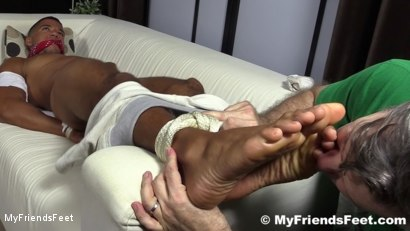 Photo number 20 from Mikey Tied Up & Worshiped shot for My Friends Feet on Kink.com. Featuring Mike Maverick in hardcore BDSM & Fetish porn.