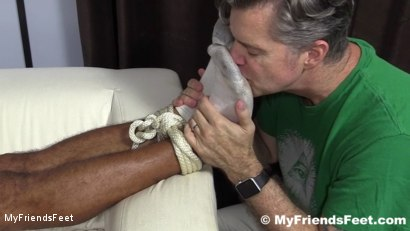 Photo number 3 from Mikey Tied Up & Worshiped shot for My Friends Feet on Kink.com. Featuring Mike Maverick in hardcore BDSM & Fetish porn.
