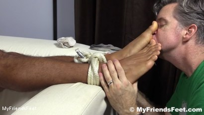 Photo number 8 from Mikey Tied Up & Worshiped shot for My Friends Feet on Kink.com. Featuring Mike Maverick in hardcore BDSM & Fetish porn.