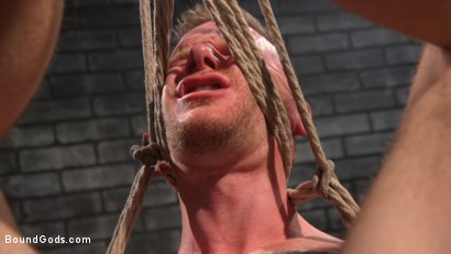 Photo number 22 from Brian Bonds: Locked Down shot for Bound Gods on Kink.com. Featuring Jason Collins  and Brian Bonds in hardcore BDSM & Fetish porn.