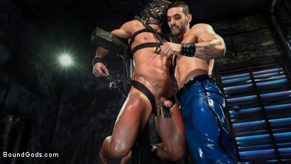Photo number 13 from Dillon Diaz serves The House shot for Bound Gods on Kink.com. Featuring Arad Winwin and Dillon Diaz in hardcore BDSM & Fetish porn.