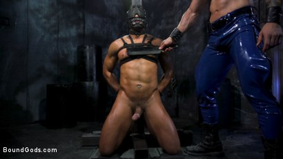 Photo number 14 from Dillon Diaz serves The House shot for Bound Gods on Kink.com. Featuring Arad Winwin and Dillon Diaz in hardcore BDSM & Fetish porn.