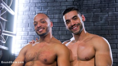 Photo number 17 from Dillon Diaz serves The House shot for Bound Gods on Kink.com. Featuring Arad Winwin and Dillon Diaz in hardcore BDSM & Fetish porn.