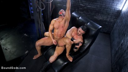 Photo number 6 from Dillon Diaz serves The House shot for Bound Gods on Kink.com. Featuring Arad Winwin and Dillon Diaz in hardcore BDSM & Fetish porn.