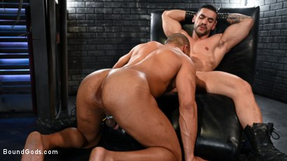 Photo number 10 from Dillon Diaz serves The House shot for Bound Gods on Kink.com. Featuring Arad Winwin and Dillon Diaz in hardcore BDSM & Fetish porn.