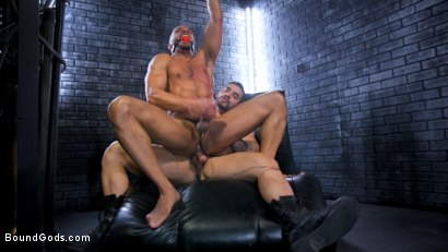 Photo number 11 from Dillon Diaz serves The House shot for Bound Gods on Kink.com. Featuring Arad Winwin and Dillon Diaz in hardcore BDSM & Fetish porn.