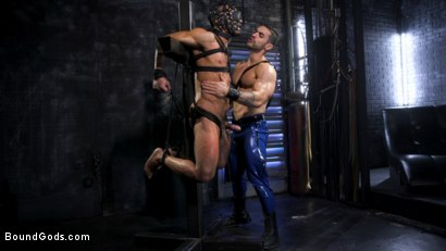 Photo number 7 from Dillon Diaz serves The House shot for Bound Gods on Kink.com. Featuring Arad Winwin and Dillon Diaz in hardcore BDSM & Fetish porn.