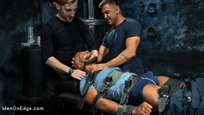 Photo number 1 from The Curious PA: Newbie Micah Martinez gets taught a lesson! shot for Men On Edge on Kink.com. Featuring Micah Martinez in hardcore BDSM & Fetish porn.