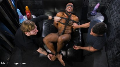 Photo number 3 from The Curious PA: Newbie Micah Martinez gets taught a lesson! shot for Men On Edge on Kink.com. Featuring Micah Martinez in hardcore BDSM & Fetish porn.