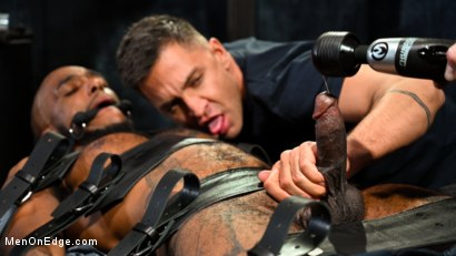 Photo number 4 from The Curious PA: Newbie Micah Martinez gets taught a lesson! shot for Men On Edge on Kink.com. Featuring Micah Martinez in hardcore BDSM & Fetish porn.