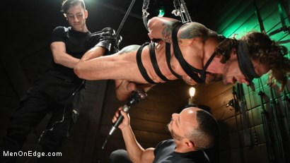 Photo number 10 from Archer Croft: Ripped Roped and Ready shot for Men On Edge on Kink.com. Featuring Archer Croft in hardcore BDSM & Fetish porn.