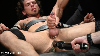 Photo number 19 from Archer Croft: Ripped Roped and Ready shot for Men On Edge on Kink.com. Featuring Archer Croft in hardcore BDSM & Fetish porn.