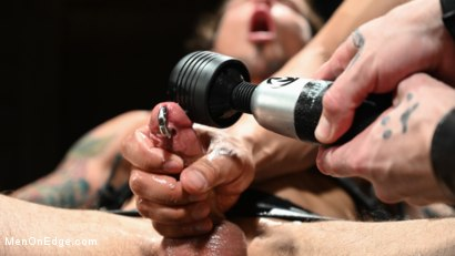 Photo number 20 from Archer Croft: Ripped Roped and Ready shot for Men On Edge on Kink.com. Featuring Archer Croft in hardcore BDSM & Fetish porn.
