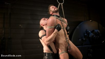 Photo number 13 from Pushing Wesley: Wesley Woods submits to Sebastian Keys shot for Bound Gods on Kink.com. Featuring Sebastian Keys and Wesley Woods in hardcore BDSM & Fetish porn.
