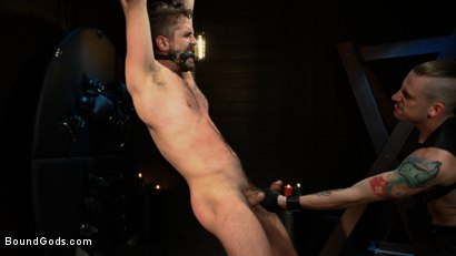 Photo number 8 from Pushing Wesley: Wesley Woods submits to Sebastian Keys shot for Bound Gods on Kink.com. Featuring Sebastian Keys and Wesley Woods in hardcore BDSM & Fetish porn.