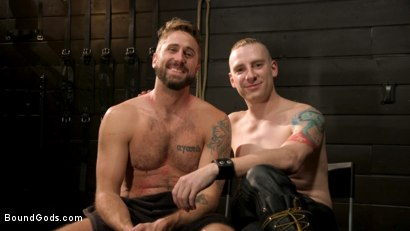 Photo number 16 from Pushing Wesley: Wesley Woods submits to Sebastian Keys shot for Bound Gods on Kink.com. Featuring Sebastian Keys and Wesley Woods in hardcore BDSM & Fetish porn.