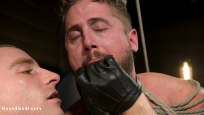 Photo number 6 from Pushing Wesley: Wesley Woods submits to Sebastian Keys shot for Bound Gods on Kink.com. Featuring Sebastian Keys and Wesley Woods in hardcore BDSM & Fetish porn.