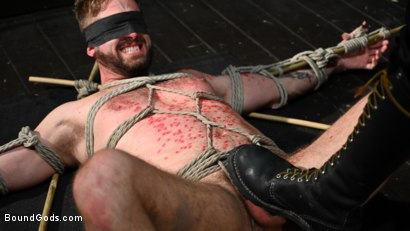 Photo number 7 from Pushing Wesley: Wesley Woods submits to Sebastian Keys shot for Bound Gods on Kink.com. Featuring Sebastian Keys and Wesley Woods in hardcore BDSM & Fetish porn.