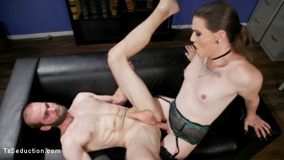 Photo number 16 from Jenna Creed and Jonah Marx: Get Fired or Get Fucked shot for TS Seduction on Kink.com. Featuring Jenna Creed and Jonah Marx in hardcore BDSM & Fetish porn.