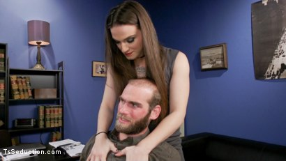 Photo number 3 from Jenna Creed and Jonah Marx: Get Fired or Get Fucked shot for TS Seduction on Kink.com. Featuring Jenna Creed and Jonah Marx in hardcore BDSM & Fetish porn.