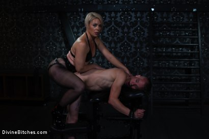 Photo number 6 from Locked and Loaded: Helena Locke drives Jessie Sparkles to the edge shot for Divine Bitches on Kink.com. Featuring Helena Locke and Jessie Sparkles in hardcore BDSM & Fetish porn.