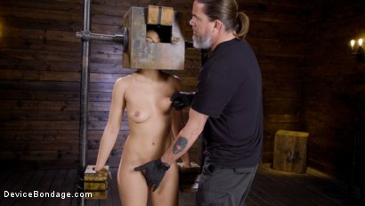 Photo number 12 from Innocence Lost: Kendra Spade shot for Device Bondage on Kink.com. Featuring Kendra Spade in hardcore BDSM & Fetish porn.