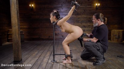 Photo number 3 from Innocence Lost: Kendra Spade shot for Device Bondage on Kink.com. Featuring Kendra Spade in hardcore BDSM & Fetish porn.