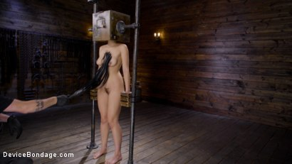Photo number 7 from Innocence Lost: Kendra Spade shot for Device Bondage on Kink.com. Featuring Kendra Spade in hardcore BDSM & Fetish porn.