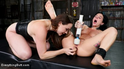 Photo number 10 from Perfect Pet: Joanna Angel serves the insatiable Chanel Preston shot for Everything Butt on Kink.com. Featuring Chanel Preston and Joanna Angel in hardcore BDSM & Fetish porn.