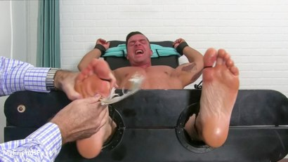 Photo number 19 from Ticklish Braden Humbled shot for My Friends Feet on Kink.com. Featuring Braden Charron in hardcore BDSM & Fetish porn.