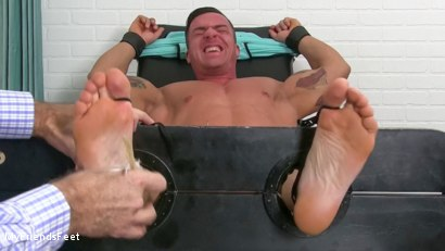 Photo number 8 from Ticklish Braden Humbled shot for My Friends Feet on Kink.com. Featuring Braden Charron in hardcore BDSM & Fetish porn.