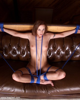 Photo number 9 from Rhiannon Bray shot for Hogtied on Kink.com. Featuring Rhiannon Bray in hardcore BDSM & Fetish porn.