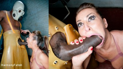Rubber Me Up Threesome