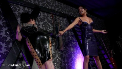 Photo number 3 from Jessica Fox and Arabelle Raphael: Substitute Submissive   shot for TS Pussy Hunters on Kink.com. Featuring Arabelle Raphael and Jessica Fox in hardcore BDSM & Fetish porn.