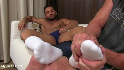 Photo number 5 from Bruno's Feet & Socks Worshiped shot for My Friends Feet on Kink.com. Featuring Bruno Bernal and Dev Michaels in hardcore BDSM & Fetish porn.