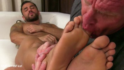 Photo number 18 from Bruno's Feet & Socks Worshiped shot for My Friends Feet on Kink.com. Featuring Bruno Bernal and Dev Michaels in hardcore BDSM & Fetish porn.