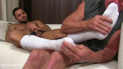 Photo number 6 from Bruno's Feet & Socks Worshiped shot for My Friends Feet on Kink.com. Featuring Bruno Bernal and Dev Michaels in hardcore BDSM & Fetish porn.