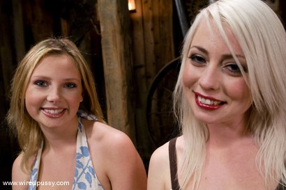 Photo number 1 from Live Show: Part 1 shot for Wired Pussy on Kink.com. Featuring Lorelei Lee and Sara Scott in hardcore BDSM & Fetish porn.