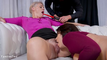Photo number 27 from Therapist Caught Scamming Her Slutty Step-Daughter's Ass shot for  on Kink.com. Featuring Seth Gamble, Helena Locke and Ivy LeBelle in hardcore BDSM & Fetish porn.