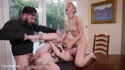 Photo number 11 from Corporate Anal Whore Sells Out Her Little Sister's Pussy shot for  on Kink.com. Featuring Mona Wales, Tommy Pistol and Ashley Lane in hardcore BDSM & Fetish porn.