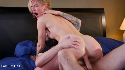 Photo number 18 from Corporate Anal Whore Sells Out Her Little Sister's Pussy shot for  on Kink.com. Featuring Mona Wales, Tommy Pistol and Ashley Lane in hardcore BDSM & Fetish porn.