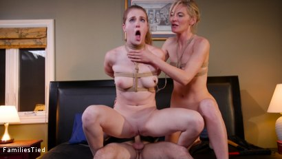 Photo number 26 from Corporate Anal Whore Sells Out Her Little Sister's Pussy shot for  on Kink.com. Featuring Mona Wales, Tommy Pistol and Ashley Lane in hardcore BDSM & Fetish porn.
