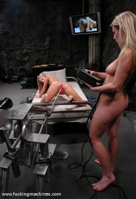 Photo number 6 from Fuckingmachines Live Show Bonus Update shot for Fucking Machines on Kink.com. Featuring Harmony and Sammie Rhodes in hardcore BDSM & Fetish porn.