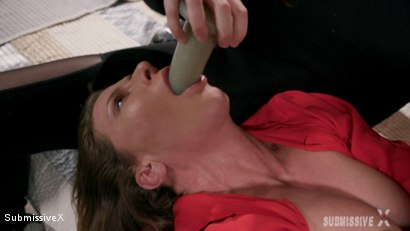 Photo number 9 from Stephie makes Ariel Deepthroat a Dildo shot for Submissive X on Kink.com. Featuring Ariel X and Stephie Staar in hardcore BDSM & Fetish porn.