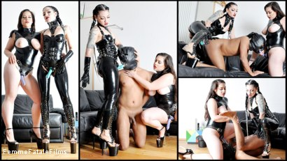 Photo number 1 from Fucked Up shot for Femme Fatale Films on Kink.com. Featuring Cybill Troy, Slave and Hannah Hunt in hardcore BDSM & Fetish porn.