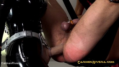 Photo number 10 from Penetrated by Queen Jennifer Carter and Carmen Rivera: We Give a Fuck shot for Carmen Rivera on Kink.com. Featuring Carmen Rivera, Queen Jennifer Carter and Colby Jansen in hardcore BDSM & Fetish porn.