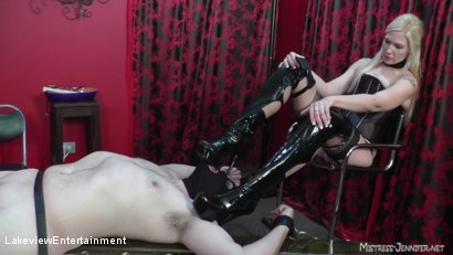 Photo number 2 from CBT Session shot for Lakeview Entertainment on Kink.com. Featuring Mistress Ariel and Slave David in hardcore BDSM & Fetish porn.