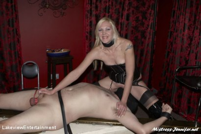 Photo number 15 from CBT Session shot for Lakeview Entertainment on Kink.com. Featuring Mistress Ariel and Slave David in hardcore BDSM & Fetish porn.